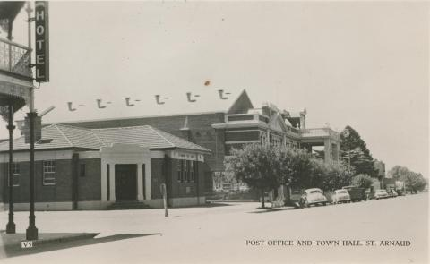 Post Office and Town Hall, St Arnaud