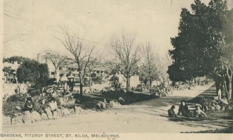 Gardens, Fitzroy Street, St Kilda