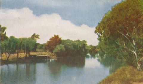 Latrobe River, Sale, 1956