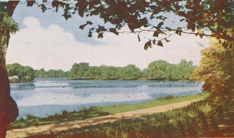 Lake Guthridge, Sale, 1956