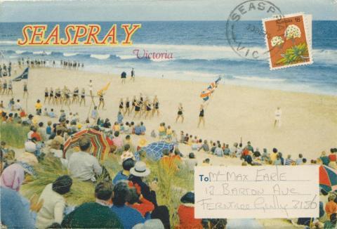 Surf carnival, Seaspray, 1975