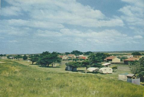 View of the town at Seaspray, 1975