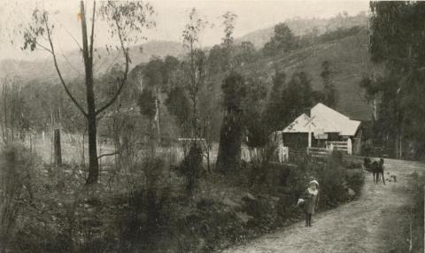 A scene at Selby, 1915