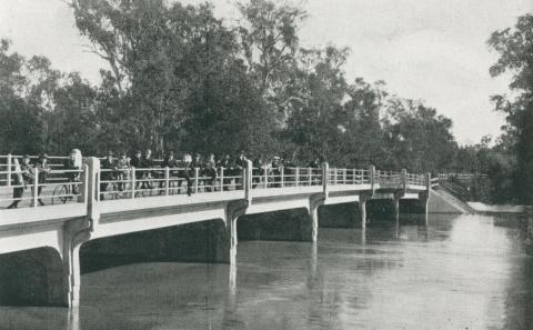 The Bridge and River in Flood, Shepparton