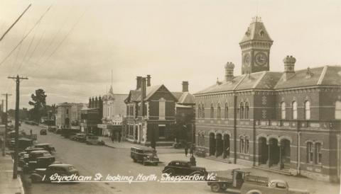 Wyndham Street, looking north, Shepparton