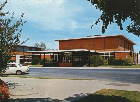 Town Hall and section of Civic Centre, Shepparton