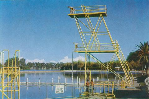 Diving Tower, Raymond West Swimming Pool, Shepparton