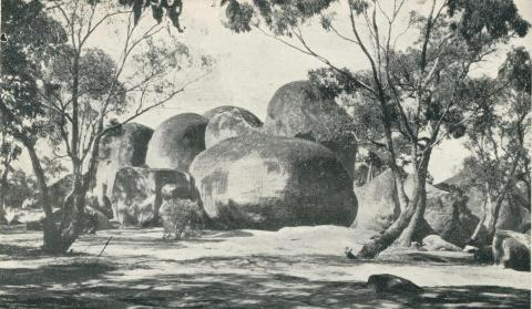 The Sister's Rocks, Stawell, 1935