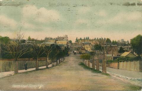 Union Road, Surrey Hills