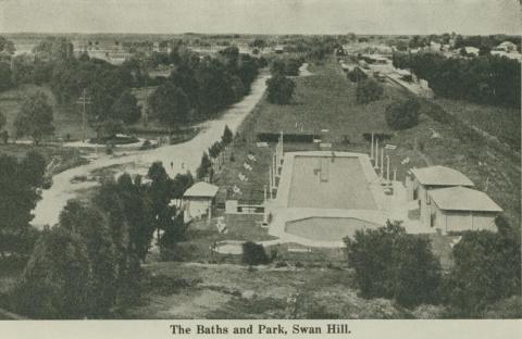 The Baths and Park, Swan Hill