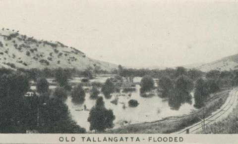 Old Tallangatta - Flooded