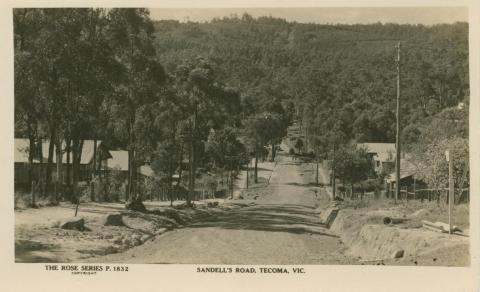 Sandell's Road, Tecoma