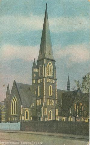 Presbyterian Church, Toorak, 1906