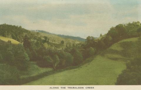Along the Traralgon Creek