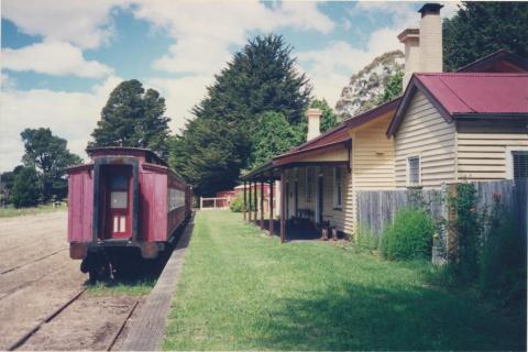 Heritage Trentham Coliban Railway Station