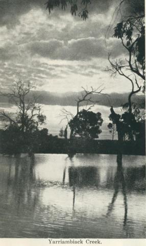 Yarriambiack Creek, Warracknabeal, 1925