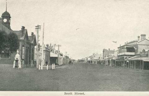Scott Street, Warracknabeal, 1925