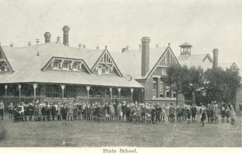 State School, Warracknabeal, 1925