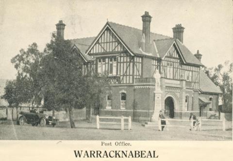 Post Office, Warracknabeal, 1925