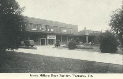 James Miller's Rope Factory, Warragul