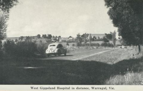 West Gippsland Hospital in distance, Warragul