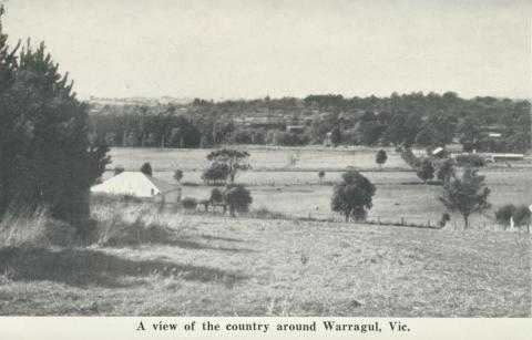 A view of the country around Warragul