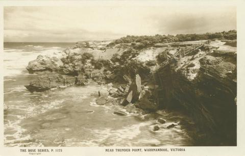 Near Thunder Point, Warrnambool