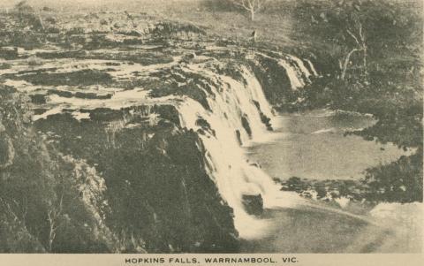 Hopkins Falls, Warrnambool, 1945