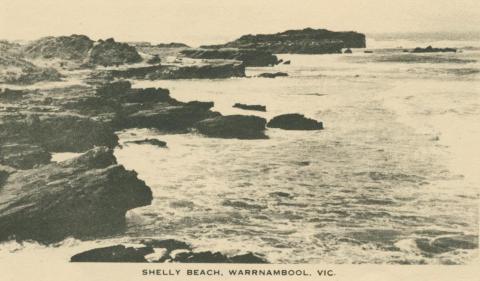 Shelly Beach, Warrnambool, 1945