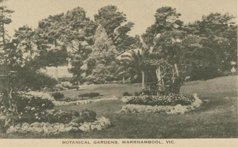 Botanical Gardens, Warrnambool, 1945