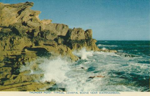 Thunder Point, typical coastal scene near Warrnambool, 1960