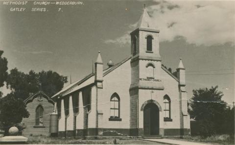 Methodist Church, Wedderburn