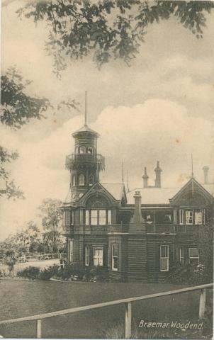 Braemar, Woodend, 1910