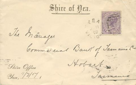 Shire of Yea, 1907