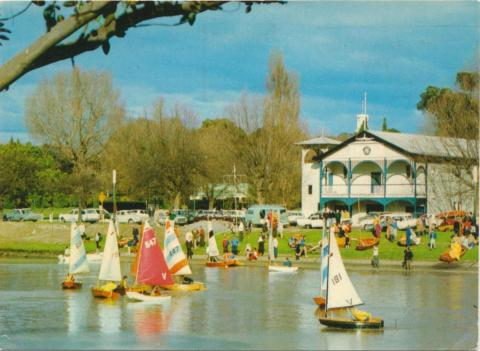 Yachting on the Yarra, Melbourne, 1973
