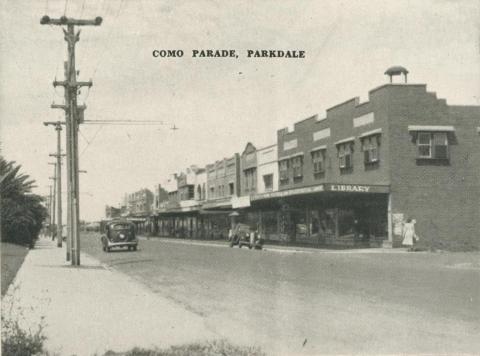 Como Parade, Parkdale, 1955