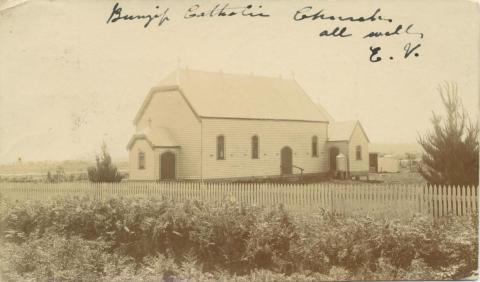 Bunyip Catholic Church, 1907