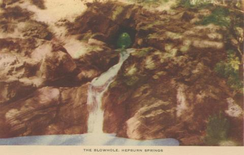 The Blowhole, Hepburn Springs, 1948