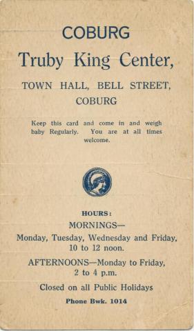 Truby King Center, Coburg, 1930