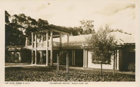 Grampians House, Halls Gap