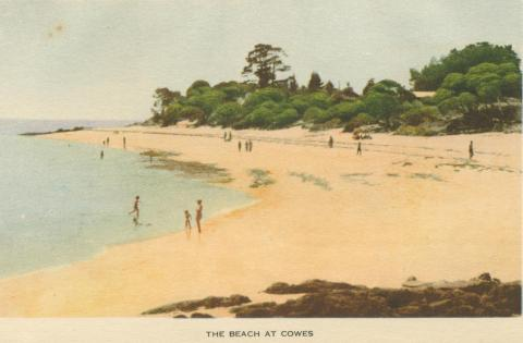 The Beach at Cowes