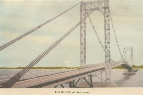 The bridge at San Remo