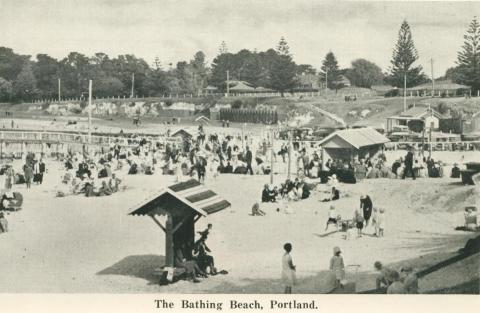 The Bathing Beach, Portland