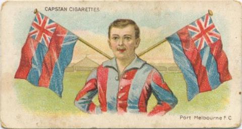 Port Melbourne Football Club, Capstan Cigarettes Card
