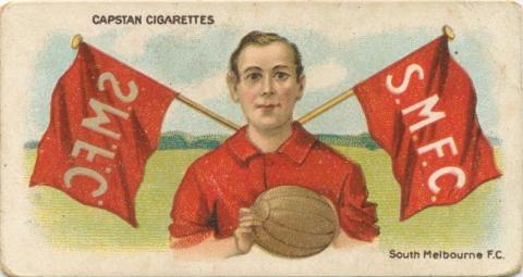 South Melbourne Football Club, Capstan Cigarettes Card