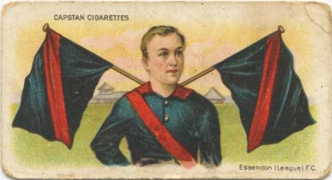 Essendon (League) Football Club, Capstan Cigarettes Card