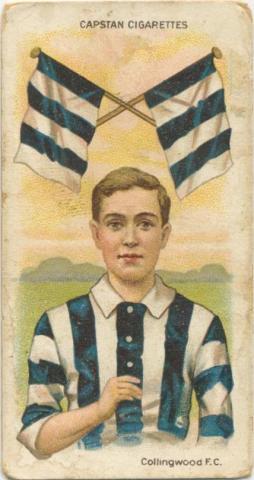 Collingwood Football Club, Capstan Cigarettes Card