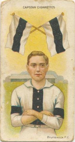 Brunswick Football Club, Capstan Cigarettes Card