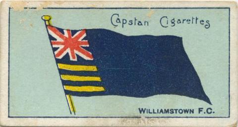 Williamstown Football Club, Capstan Cigarettes Card