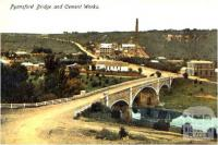 Fyansford bridge and cement works, c1910